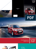 Maruti Wagon R Stingray Brochure