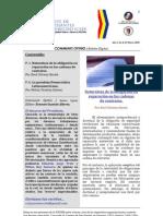 Boletín Communis Opinio - Año 1, No. 8, Marzo 2009.