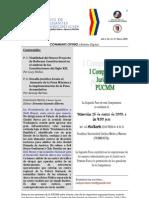 Boletín Communis Opinio - Año 1, No. 11, Marzo 2009.