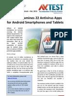 Avtest 2013-01 Android Testreport English