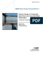 Seismic Design of Composite Steel Deck Diaphragms NEHRP