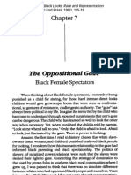 Bell Hooks - The Oppositional Gaze