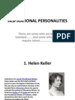 Inspirational Personalities