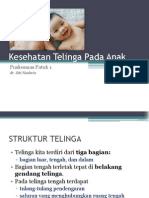 Kesehatan Telinga Pada Anak