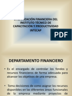 Departamento Financiero