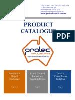 Prole c Catalogue 2012