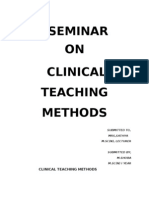 58949440 Clinical Teaching Methods