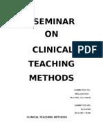 58949440 Clinical Teaching Methods