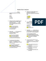 Practice Structure A