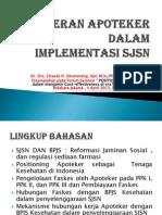 Peran Apoteker Dalam Implementasi SJSN _ Chazali Situmorang, Apt