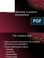 Ethical Dilemmas in Product Development
