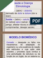 Epidemiologia - Modelos Saude-Doenca