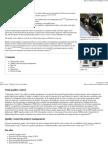 Quality Control - Wikipedia, The Free Encyclopedia