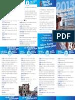 Fiestas de Obanos-eko Festak 2013. Programa mano-Eskuko egitaraua