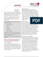 Vaccine Components Fact Sheet