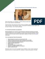 Simtomele depresiei postpartum si tratamente aferente