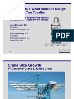 Crane Loads & Wharf Structure Design