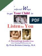 Ways Kids Listen