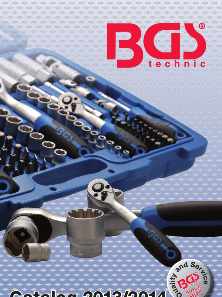 CATÁLOGO BGS   Tools   Screw