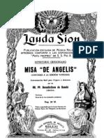 Gregoriano - Misa de Angelis