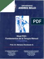 Dr. Mariano Rocabado - Nivel FOC, Fundamentos de la Terapia Manual Ortopédica