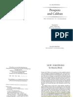 Mannoni, Prospero & Caliban (Intro., Ch1)