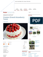 Fraisier (French Strawberry Torte)