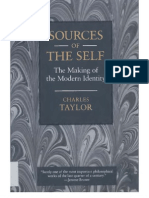 Sources of the Self the Making of the Modern Identity by Charles Taylor