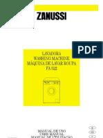 Zanussi Fa522 p