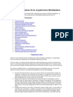 Conceptos y Tecnicas de La Arquitectura Bioclimatica
