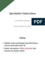 Spondylitis Tuberculosa