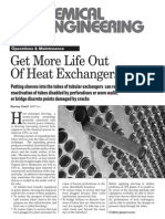 Get More Life From HeatExchangers-Sleeving of Tubes