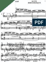 Debussy Suite Bergamasque