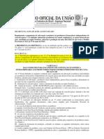DECRETO No 8.079 REGULAMENTA PAGAMENTO SUBVENÇÃO ECONÔMICA AO PRODUTORES CANA DE AÇUCAR NORDESTE