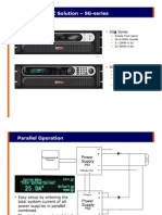 SG Series Parallel Operation