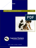 Capstone - Pet & Animal Care Q1 2012