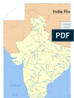 India Rivers Maps