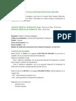 Admitere Scoala Sanitara Postliceala 2012-2013