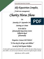 Glenamaddy Equestrian Complex Show Schedule Sept 2013