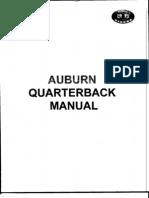 Auburn Univ QB Manual