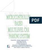 Microcontroller Based Multilevel Car Parking system
