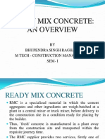 Presentation on RM Concrete