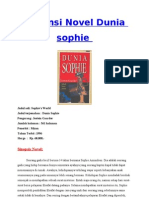 Resensi Novel Sophi's World