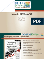 Intro to Mdx Aso