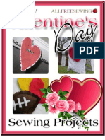 7 Easy Valentines Day Sewing Projects eBook
