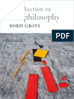 Groys Boris Introduction Antiphilosophy