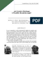 KurtLewinsHeritage-APossibleBreakthrough