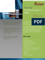 CFOs Conference Flyer