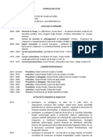 CV Livia Doina Stanciu
