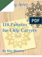 110 Patterns for Chip Carvers - Rita Blanton